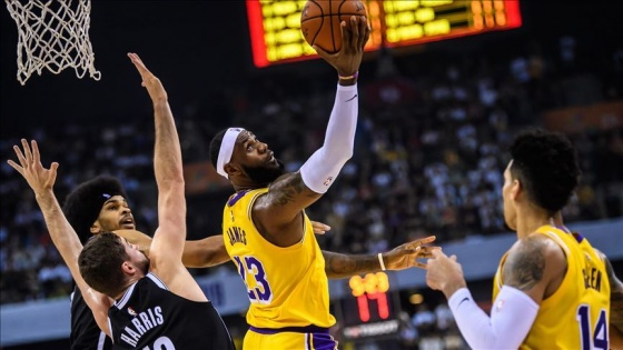 LOS ANGELES LAKERS KÜLLERİNDEN DOĞDU