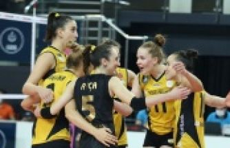 FİLE DERBİSİNDE ZAFER VAKIFBANK'IN